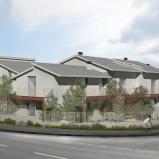 Montale. Prossima costruzione. Appartamento con giardino e taverna. Rif.M267.8