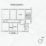 Pistoia Centro. Appartamento di 130mq. Euro 140.000 Rif. P235