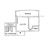 Pistoia centro. Appartamento bilocale. Euro 110.000 Rif. P134
